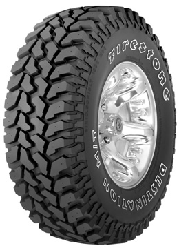Llantas FIRESTONE DESTINATION MT 285/70 R17 Q