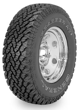 Llantas GENERAL TIRE GRABBER AT 255/65 R17 S