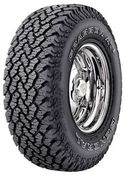 Llantas GENERAL TIRE GRABBER AT2 33/12.50 R17 Q
